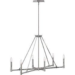 Buchanan 6 Light Linear Suspension