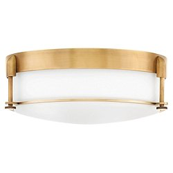 Colbin Flush Mount Ceiling Light (Heritage Brass/16 in) - OPEN BOX RETURN