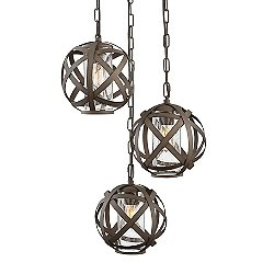 Carson Multi-Light Outdoor Pendant Light