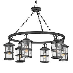 Lakehouse Outdoor Chandelier