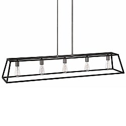 Fulton 5-Light Linear Suspension Light
