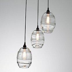 Ellisse Round Multi-Light Pendant Light