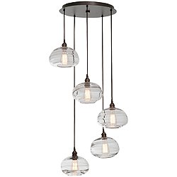 Coppa Round Multi-Light Pendant Light