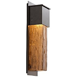 Outdoor Short Square Wall Sconce