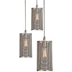 Uptown Mesh Multi-Light Pendant Light