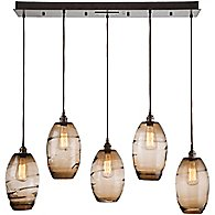 Ellisse Linear Suspension Light