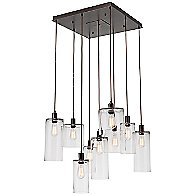 Apothecary Square Chandelier