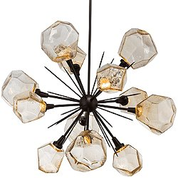 Gem Starburst LED Chandelier