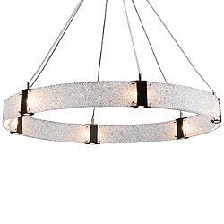 Parallel Ring LED Chandelier - Large