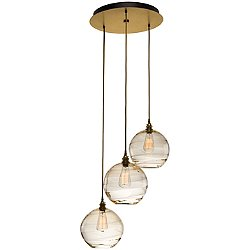 Terra Round Multi Light Pendant Light