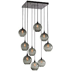 Terra Square Multi Light Pendant Light