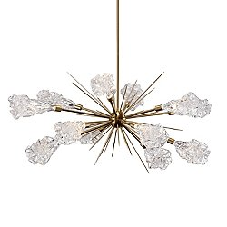 Blossom LED Oval Starburst Chandelier