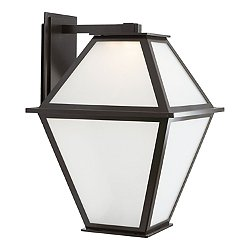 Terrace Frosted LED Outdoor Wall Light