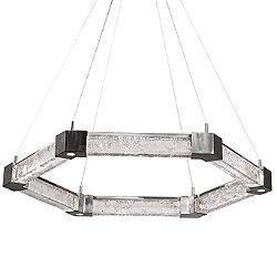 Axis Hexagonal LED Chandelier