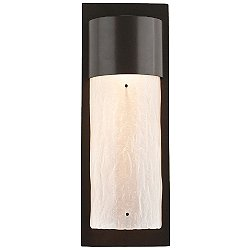 Outdoor Tall Round Wall Sconce