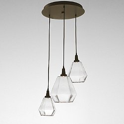 Hedra LED Multi-Light Pendant Light