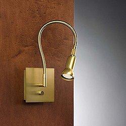 Bedside Reading Wall Sconce (Antique Brass) - OPEN BOX RETURN