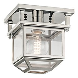 Rutherford 1 Light Semi-Flush Mount Ceiling Light