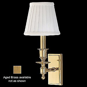 Ludlow Wall Sconce (Aged Brass) - OPEN BOX RETURN by Hudson Valley Lighting