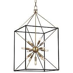 Glendale Pendant Light (Aged Brass/Large) - OPEN BOX RETURN