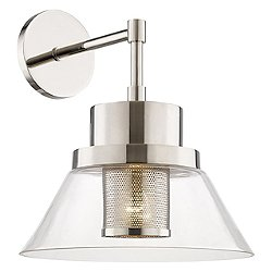 Paoli Wall Sconce (Polished Nickel) - OPEN BOX RETURN