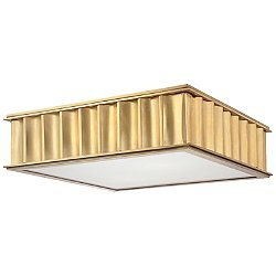 Middlebury Square Ceiling Light (Aged Brass/Smal) - OPEN BOX