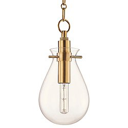 Ivy LED Pendant (Aged Brass/Medium) - OPEN BOX RETURN