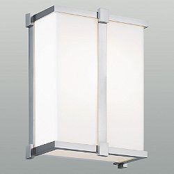 Hatbox Square Acrylic Wall Sconce
