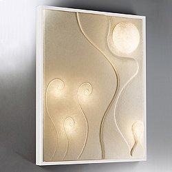 Lunar Dance 3 Wall Sconce