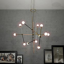 Bullarum ST-12 4 Metal Edition Chandelier