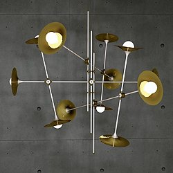 Bullarum ST-12 Chandelier with Discs