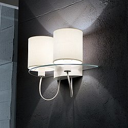 Silhouette AP 2-Light Wall Sconce