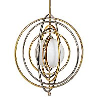 Electrum Kinetic Chandelier