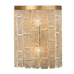 Waterfall Demi-Lune Wall Sconce