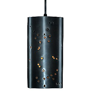 Crater Pendant Light by John Beck Steel