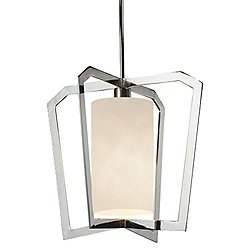 Clouds Aria 1-Light Intersecting Chandelier