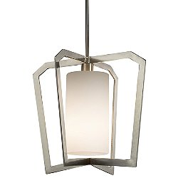 Fusion Aria 1-Light Intersecting Chandelier