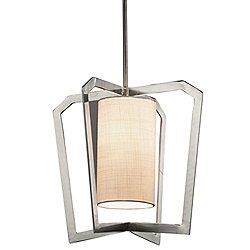 Textile Aria 1-Light Pendant Light