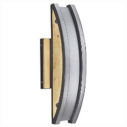 Alabaster Rocks! Cardiff 14 Inch LED Outdoor Wall Sconce