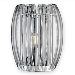 Bohemia Aplique Small Crystal Wall Sconce