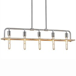 Bronx 5-Light Linear Suspension Light