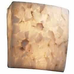 Alabaster Rocks! Wall Sconce (Alabaster) - OPEN BOX RETURN