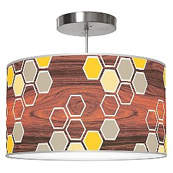 Hex Pendant Light