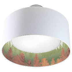 Treescape Nest Drum Pendant Light