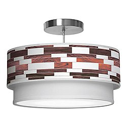 Tile 3 Double Tiered Pendant Light