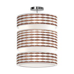 Weave 3 Triple Tiered Pendant Light