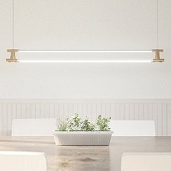 THIN Multiples Triad Linear Suspension Light