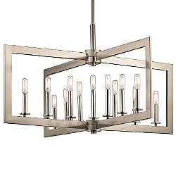 Cullen 13 Light Linear Chandelier