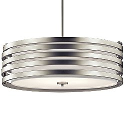 Roswell Large Drum Pendant Light