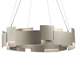 Moderne Round LED Chandelier